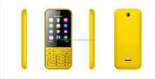High quality hot 2.4inch telephone mobile quad band dual sim factory direct unlocked cellphones