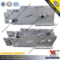 high precision cnc machining welding part for machine box