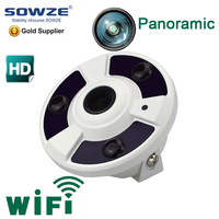 1.3MP 5MP mini network ip camera fisheye cam wifi poe 360 degree dome surveillance camera