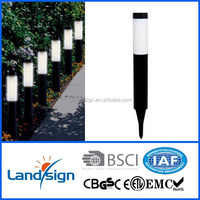 CiXi Landsign solar powered led lamp XLTD-912 solar led lamp for crafts series high quality led solar lawn lights for garden