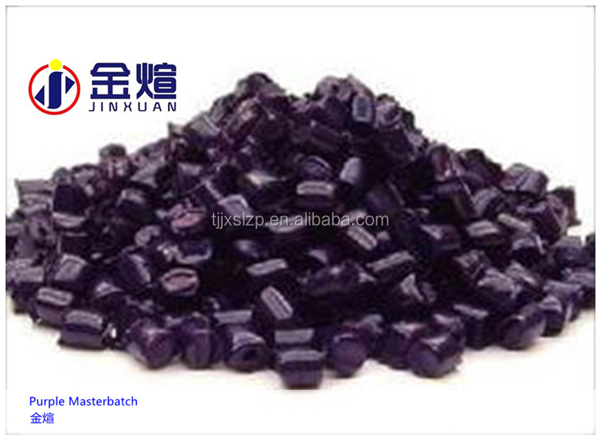 Purple Color Mastertch High Brightness Plastic Masterbatch for Injection/Film Blowing/Extrusion&Virgin Purple Color Masterbatch