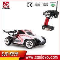 Hot&New! Toys 2.4Ghz Radio Transmitter Hsp Stunt Rc Car 360 Degrees Above 14 Years Old SJY-WL A979