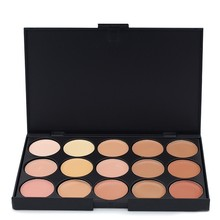 Professional 15 Colors Concealer Camouflage Palette Brighten Face Care Neutral Makeup Cosmetic Palette