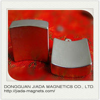 Rare earth segment and High power cheap customized arc neodymium magnet