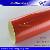 Glow in the dark reflective material self adhesive cutting plotter stickers for sign making