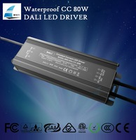 80w constant current dali driver waterproof led power supplies
