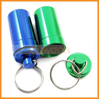 Waterproof Pill Case with Rubber Seal for Traveler