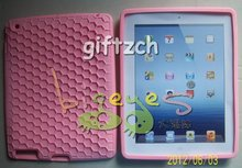 Honeycomb Silicone Protective case cover for IPAD2