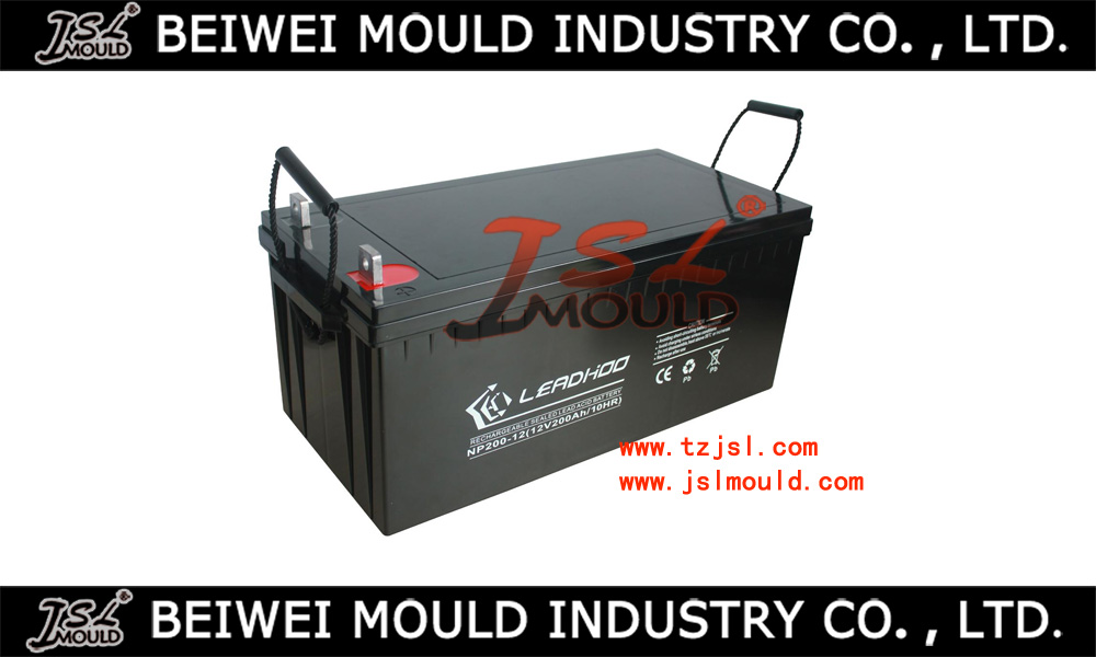 Customized Injection Plastic Deep Cycle Lead Acid Battery Box Mould
