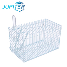 Galvanized steel wire catching pest animal mouse trap cage for farm