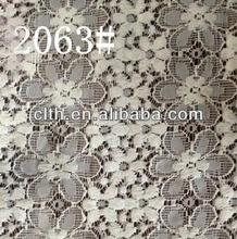 2063 elastic nylon lace fabric lace for garment