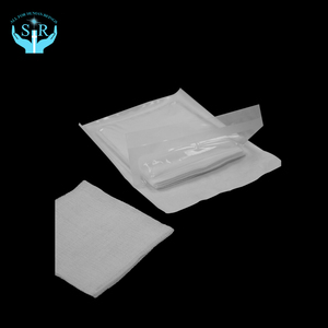 Non woven sterilized disposable surgical gauze swab compressed and absorbent