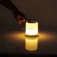 table lamp 2015 Touch lamp Christmas Gift Music 5W LED blub table lamp+smart Bluetooth with Phone +App