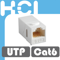 Taiwan Supplier RJ45 Cat5e 180 Degree Unshielded UTP Straight Keystone Coupler
