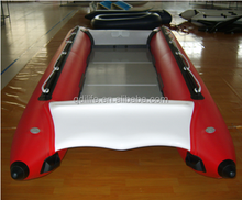 2016 Hot sale inflatable patrol boat hovercraft used life boat for sale