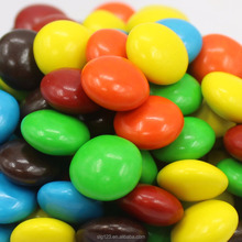 7g Halal multi-color crispy rainbow sugar coated Chocolate beans