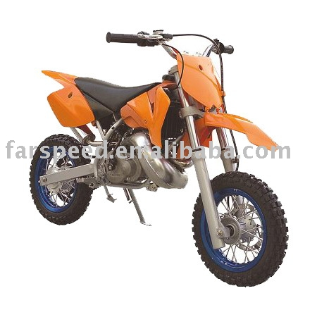 50cc 2-stroke Water-cooled Dirt bike