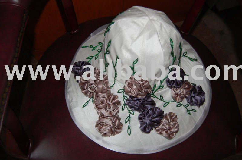 SILK BRIDAL HAT
