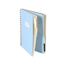 Fashion Promotion Top Quality Hardcover Spiral College Notebook