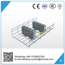 Hot Dip Galvanized Stainless Steel Wire Mesh Cable Tray