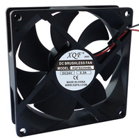 90mm plastic axial cooling fan manufacturer 90x90x25mm fan
