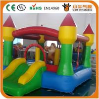 Inflatable Jungle Bounce House Moonwalk Jumper Bouncy Jump Bouncer Castle