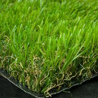 Top quality promotional soft feeling garden artificial lawn