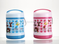 1400ml Double Wall stainless steel/plastic Lunch Box