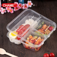 PP Food Grade Airtight Microwave Plastic Food Storage Container