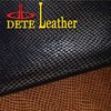 synthetic pu print embossed leather roll raw snake skin prices for sale