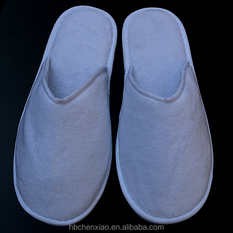 2020 prefect white ECO friendly biodegradable hotel slippers disposable hotel slipper