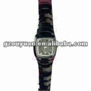 Fashion men and ladies tungsten watchs/Customized his and her watch