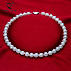 Latest Design Wedding Jewelry Women Pearl Beads Necklace Designs