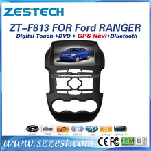 ZESTECH car parts in bangkok thailand touch screen car dvd player for Ford Ranger