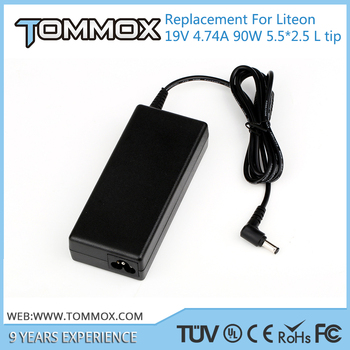 19V 4.74A 90W 5.5*2.5 L tip laptop battery charger PA-1900-32 for Liteon 5920G Z53U 5520G 3750G 4520