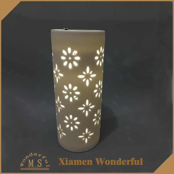 light glow tealight candle holder cup porcelain
