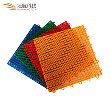 Wholesale removable anti slip plastic standard size outdoor futsal courts rubber flooring