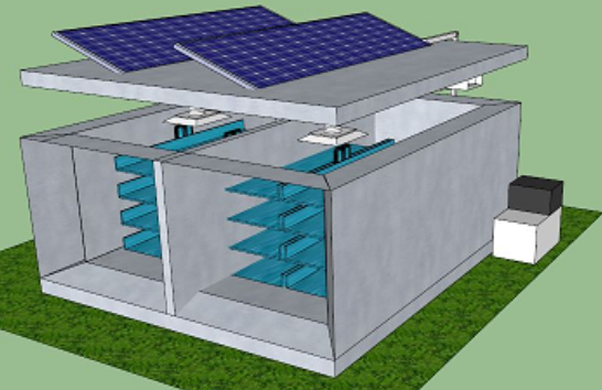 manufacturer of solar powered cold storage room for meat