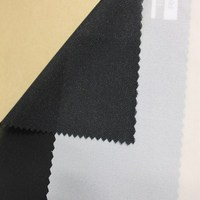 New design plain fusing interlining fabric with low price