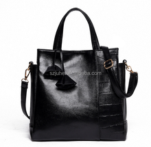 Real cow leather messenger Bag lady handbag purse genuine leather handbag for women
