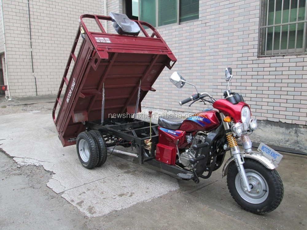 Cargo Motor Tricycle with Rear Double Wheels 150cc 175cc 200cc 250cc