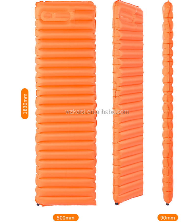 Outdoor Blow-up Lilo Folding Splicing Inflatable Pad