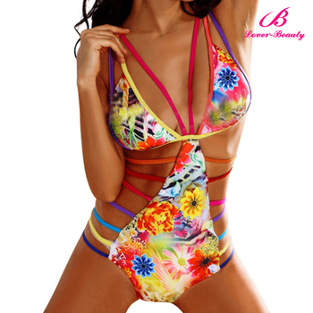 Lover Beauty Floral Prints Nylon spandex swimwear fabric
