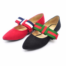 High Quality classical flat shoes imported women flat shoes