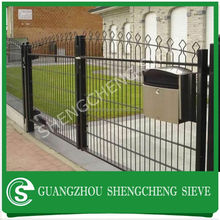 best quality Korea style metal fence razor barbed wire decorated wire mesh fence