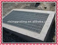 galvanized metal grates siding drainage covers