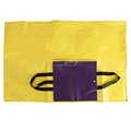 prmotional easy carrying foldable non woven beach mat
