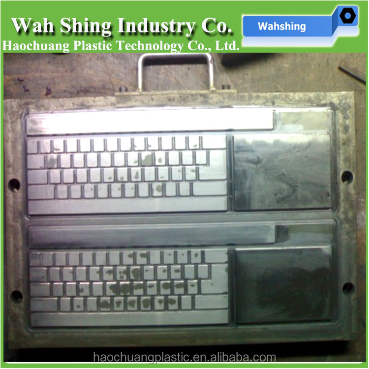 High quality plastic injection moulding computer keyboard, notebook keyboards molding