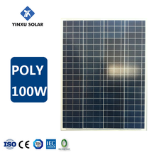photovoltaic solar power cells 100w poly solar panel for solar panel system