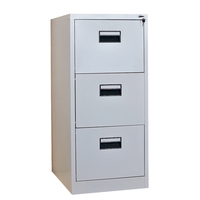 25 years' experience factory supply office 3 drawer metal file cabinet